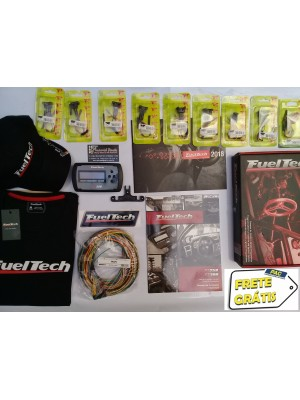 Fueltech FT250 Chicote 3 Metros + 9 Conectores e Brindes