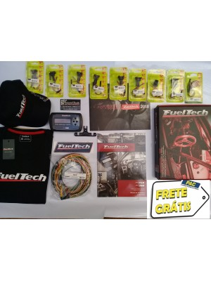 Fueltech FT300 Chicote 3 Metros + 9 conetores + brindes