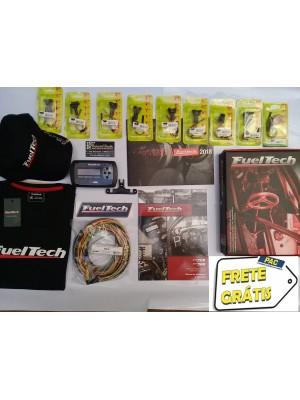 Fueltech FT300 Chicote 3 Metros + 9 conetores + brindes