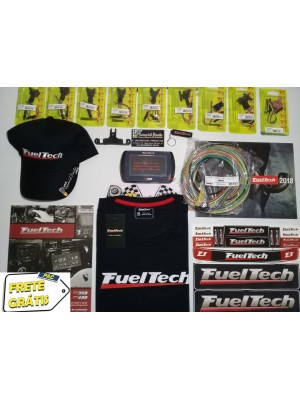 Fueltech FT350 Com Chicote 3 Metros + Conectores + Brinde
