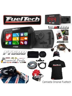 Fueltech FT500 + Wb Nano na Promoção com Chicote + Camiseta +Bone + Brinde
