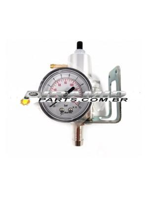 Dosador de Combustível Injeção RSI vedação por esfera - Prata