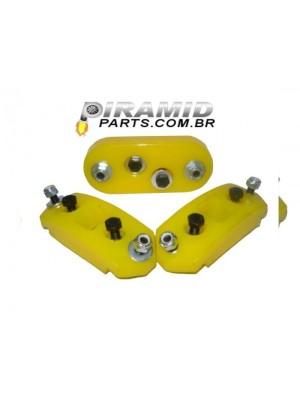 Kit Coxim Motor e Cambio Para Fusca e Brasilia