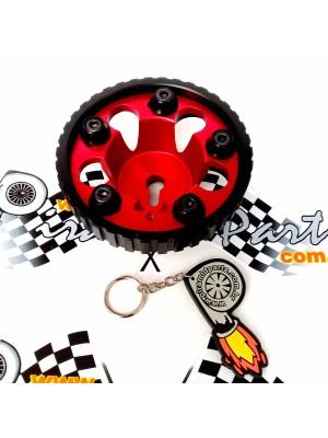Polia do Comando Regulável para GM Chevette Turbo ou Aspirado Vermelha