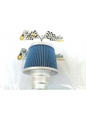 Filtro de Ar Duplo Fluxo Azul 3x1 Grande