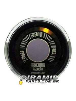 Hallmeter Retro Fusca Bege