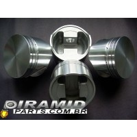 jogo de pistao afp forjado motor 1.9 ap 83.00 mm turbo