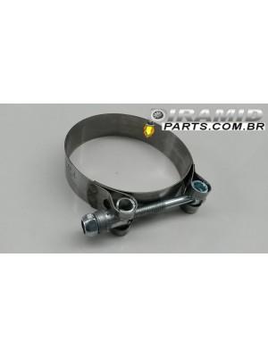 Abraçadeira De Inox Tucho 68 - 77mm