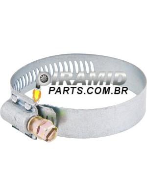 Abraçadeira De Fenda 114 - 133 Fita 14mm  Para Mangueira