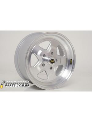 Roda Power Star Diamantada AG  R 15 X 3.5 furação 4 x 100 ( cada )