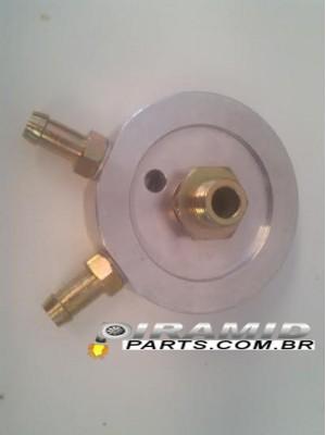 Flange para radiador de óleo opala