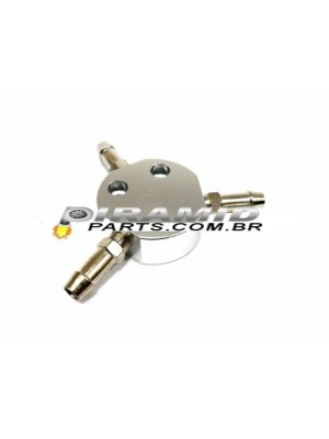 Divisor Y Combustível p Mangueira 9mm
