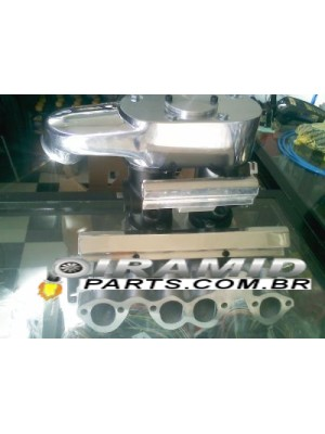 Kit Coletor Com TBI Estilo Weber Para 8 Bicos VW Gol AP