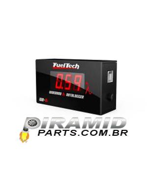 Wideband - 02 Datalogger Fueltech (compatível com sonda4.2) - chicote 2m sem sonda