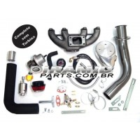 Kit Turbo VW AP Carburado mono  1.6 / 1.8 / 2.0 sem Turbina