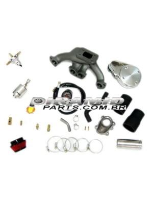 Kit Turbo Fiat Uno Fiaza Carburado 1.0 / 1.3 Sem Turbina