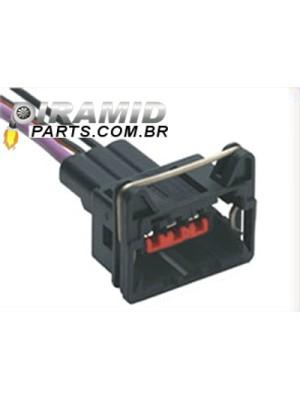 Conector para Sensor de Rotação 3 Pinos Para Ser Utilizado em Chicote Fueltech e Similares