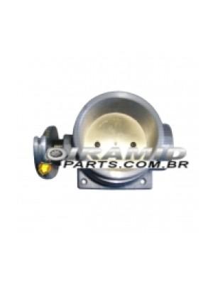 Corpo de Borboleta TBI para Opala 6cc ou 4cc 75mm