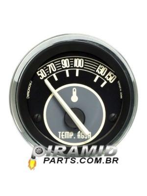 Termometro de Agua Eletrico 52mm Bege para Fusca